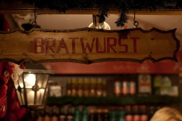 Bratwurst stand vienna