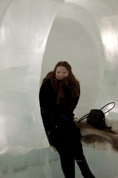 Me int he icehotel