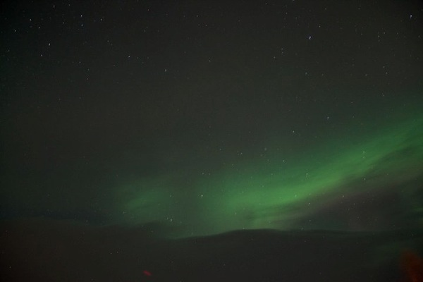 Northern lights abisko