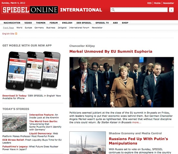 The Spiegel English Version