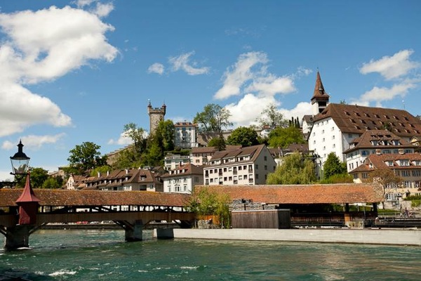 Lucerne Switzerland summer