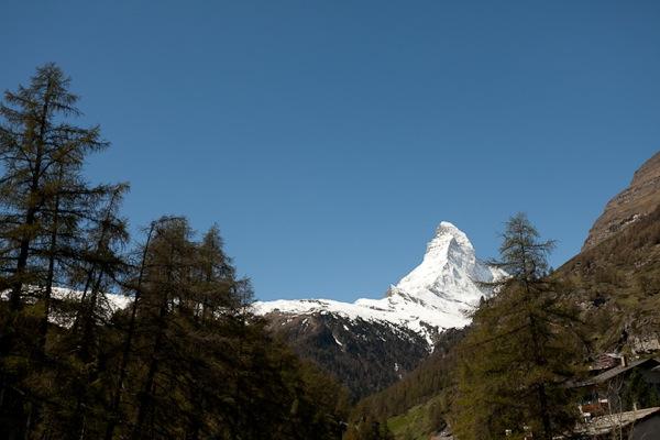 Zermatt Switzerland Matterhorn summer
