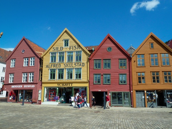 Bergen houses Norway